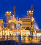 Power plant. In the industrial Royalty Free Stock Photos