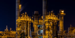 Power plant industrial Royalty Free Stock Photo