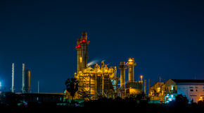 Power plant industrial Royalty Free Stock Photos