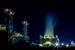 Power plant industrial Stock Photo