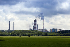 Power plant, industry Stock Image