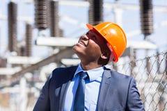 Power plant inspector Stock Photos