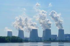 Power plant Jaenschwalde Royalty Free Stock Photos