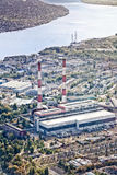 Power plant in Kiev, Ukraine Royalty Free Stock Photography