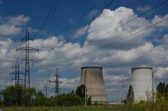 Power plant. Kiev,Ukraine Royalty Free Stock Image