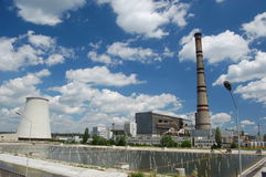 Power plant. Kiev,Ukraine Stock Images