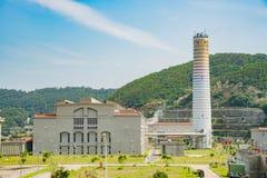 The power plant of Matsu. At Nangan, Taiwan Stock Image