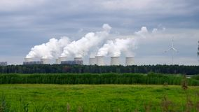 Power plant stock video footage