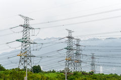 Power plant near the Three Gorges Dam Stock Images