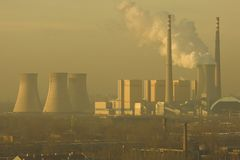 Power Plant, Peking Stock Image