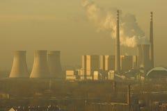 Power Plant, Peking stock image
