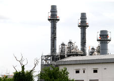 Power plant. Powerplant in industrial zone in Thailand Royalty Free Stock Photography