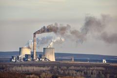 Power Plant Smoke Royalty Free Stock Photography