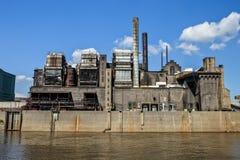Power Plant. A power plant in St. Louis Missouri Stock Photos