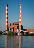 Power Plant Stack Stock Photos