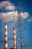 Power Plant Stack Stock Photography