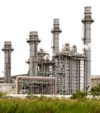 Power plant station isolated Stock Photo