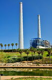 Power Plant Station in Israel Royalty Free Stock Photos
