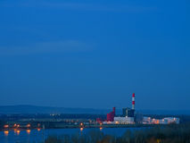 Power Plant in Theiss, Lower Austria Stock Images