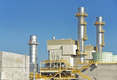 Power Plant Towers Stock Image