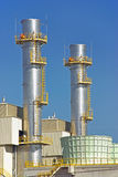 Power Plant Towers Stock Photography
