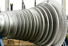 Power Plant Turbine Royalty Free Stock Image