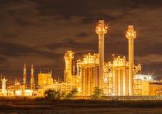 Power plant twilight Royalty Free Stock Photo