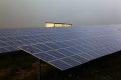 Power plant using renewable solar energy Stock Photo