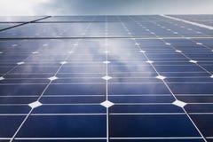 Power plant using renewable solar energy Royalty Free Stock Photos