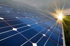 Power plant using renewable solar energy Royalty Free Stock Photo