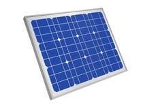 Power plant using renewable solar energy, 3d rendering royalty free illustration