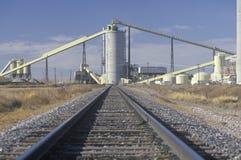 Power plant in Wyodak Stock Photo