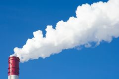 Power plants royalty free stock photos