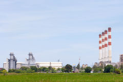 Power plants Royalty Free Stock Images