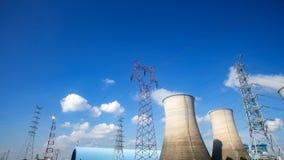 Power plants Stock Image