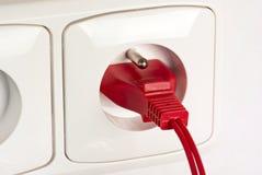 Power plug Stock Photography