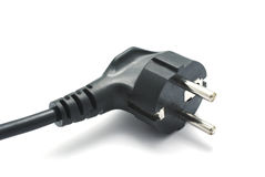 Power plug Royalty Free Stock Photo