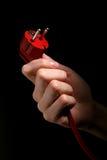 Power plug. Stock Photos