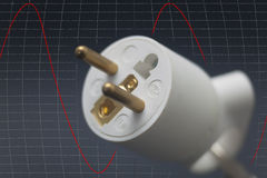 Power plug Royalty Free Stock Photos