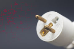 Power plug Royalty Free Stock Images