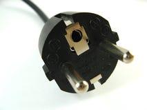 Power plug close-up Stock Image