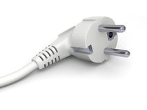 Power plug detail Royalty Free Stock Photo