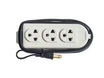 Power plug isolated on white Royalty Free Stock Photo