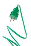 Power plug to power cord Stock Photography