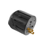 Power plug travel adapter Royalty Free Stock Image
