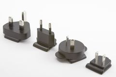 Power plugs Royalty Free Stock Images