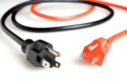Power plugs Stock Images