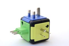 Power Plugs. International Power Plugs Royalty Free Stock Photos