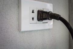 Power plugs Stock Image