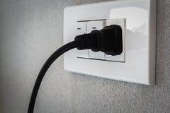 Power plugs Stock Photos